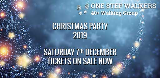 One Step Walkers Christmas Party 2019